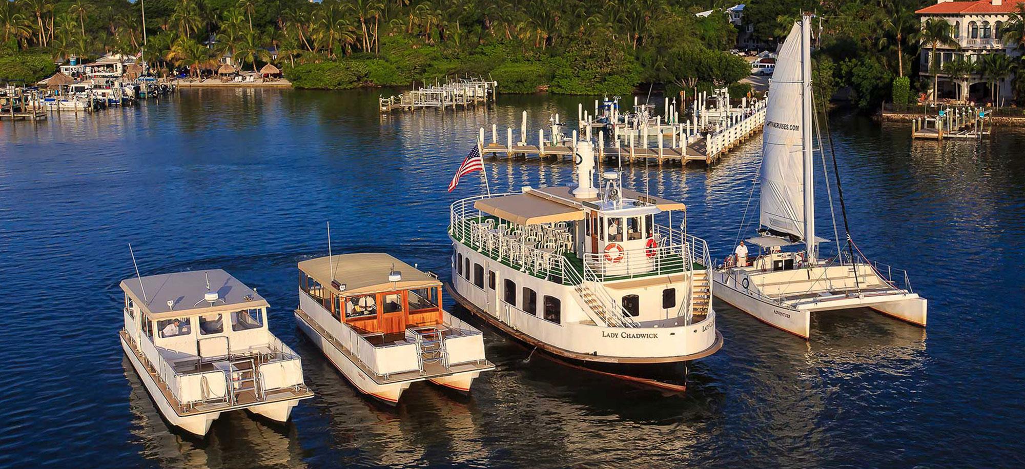 Captiva Cruises Our Fleet